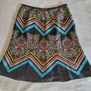 Axcess by Liz Claiborn Multi color polyester skirt